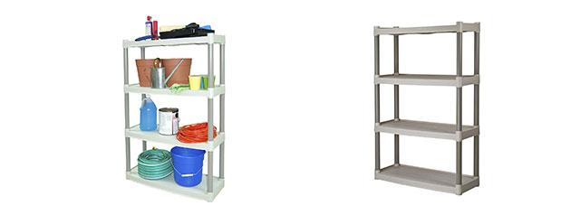 Plano Molding 907-003 4 Shelf Utility Shelving by Plano Molding